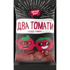 """Помідор сушений  """"Два томати"""", Fruit Riot, 15г"""