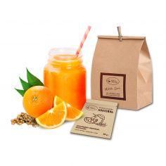 Вітамінно-білковий коктейль з Апельсином, King`s Organic, 20г