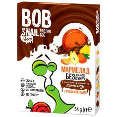 Мармелад груша-апельсин в бельгійському молочному шоколаді bob snail (Равлик Боб), 54г