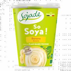Йогурт соєвий банан органічний, Sojade, 400г