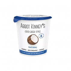 Йогурт кокосовий Грецький органічний, Abbot Kinney's, 350мл