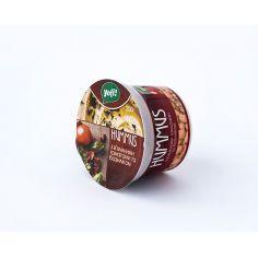"""Хумус, закуска середземноморська з в`яленими томатамиі базиліком, ТМ """"Yofi"""", 250г"""
