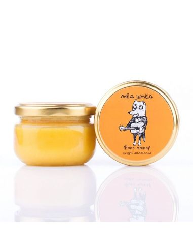 Мед шмед с цедрой апельсина, 150г.