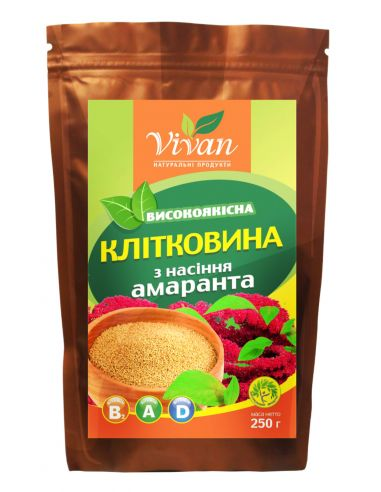 Шрот насіння амаранту, Vivan, 250г