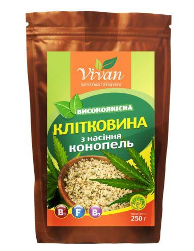Шрот насіння коноплі, Vivan. 250г
