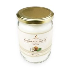 Масло кокосове рафіноване, Їж Еко, 500мл