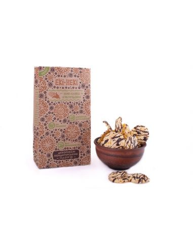 Мини-хлебцы кукурузные, декорированные глазурью, Екі-Некі, 40г