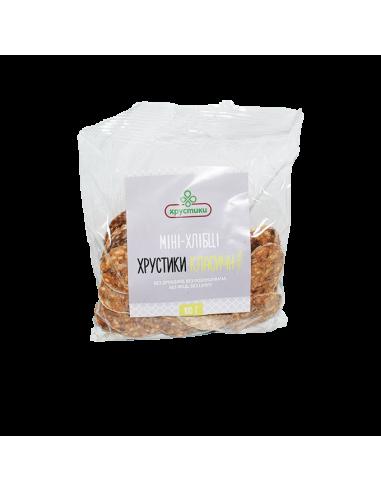 Хлібці зернові, Хрустики, 100г