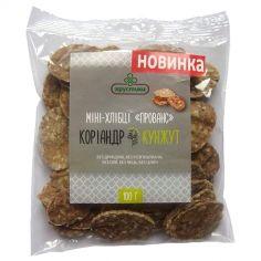 Хлібці зернові прованс, Хрустики, 100г