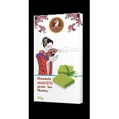 Шоколад з зеленим чаєм, Matcha, Shoude, 90г