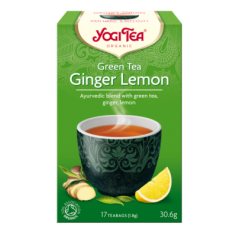 Чай Ginger Lemon, Yogi Tea, пакет 1,8г