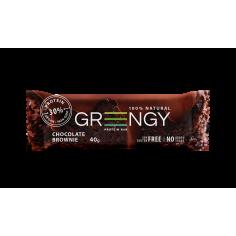 Батончик протеїновий Шоколадний брауні, Грінджи, 40г.