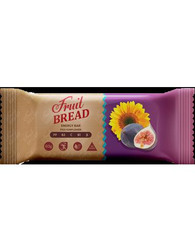 Фруктовий хліб інжир-соняшник, Солодкий Світ, 60г