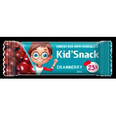 Батончик з журавлиною KidSnack, 30г