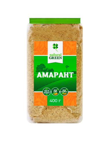 Амарант, Natural Green, 400г
