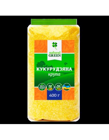 Кукурудзяна крупа, NATURAL GREEN, 400г