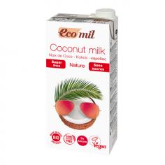 Молоко з кокосу без цукру, EcoMil, 1000мл