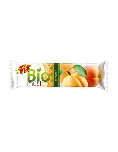 Батончик мюслі абрикосовий 30 г - Fit
