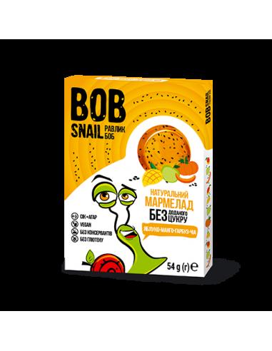 Мармелад яблуко-манго-гарбуз-чіа bob snail (Равлик Боб), 54г