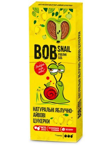 Натуральні яблучно-айвові цукерки bob snail (Равлик Боб), 30г