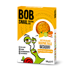 Мармелад яблуко-манго-гарбуз-чіа bob snail (Равлик Боб), 108г
