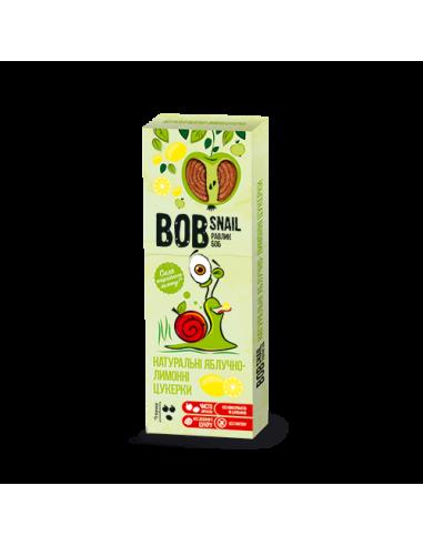 Натуральні яблучно-лимонні цукерки bob snail (Равлик Боб), 30г