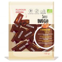 Цукерки Супер Фаджіо Какао органічні, Super Fudgio. 150г