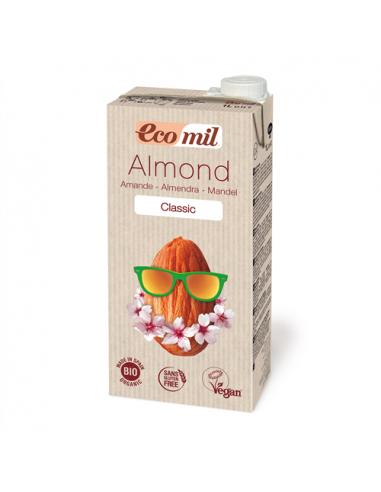 Молоко миндальное классическое, Ecomil, 1000мл