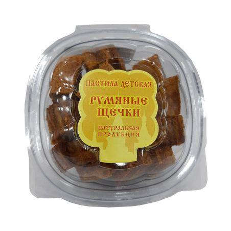 "Пастила яблучна ""Рум'яні щічки"", (креманка), 170г"