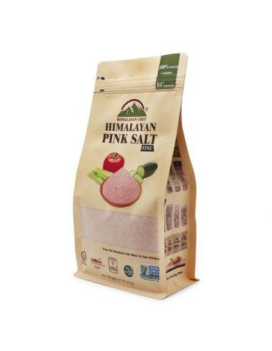 Сіль гімалайська рожева дрібна, Himalayan Chef, 227г