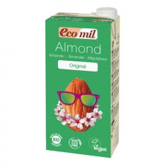Молоко мигдальне з сиропом агави, EcoMil, 1000мл