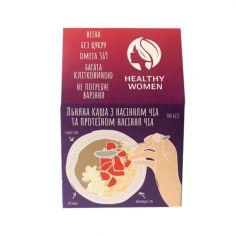 Каша льняна з насінням та протеїном Чіа, Healthy Women,300г
