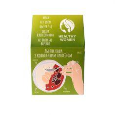 Каша льняна з Протеїном коноплі, Healthy Women,300г