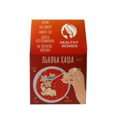 Каша льняна Класична, Healthy Women,300г