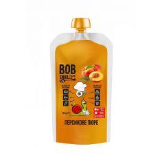 Пюре персикове, Равлик Боб, 400г