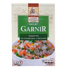 Різотто по-італійськи з овочами, Smart Garnir, LugoVenko, 163г