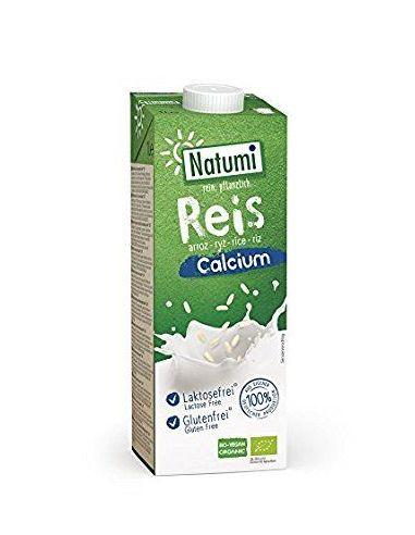 Молоко рисовое с кальцием, Natumi, 1000мл