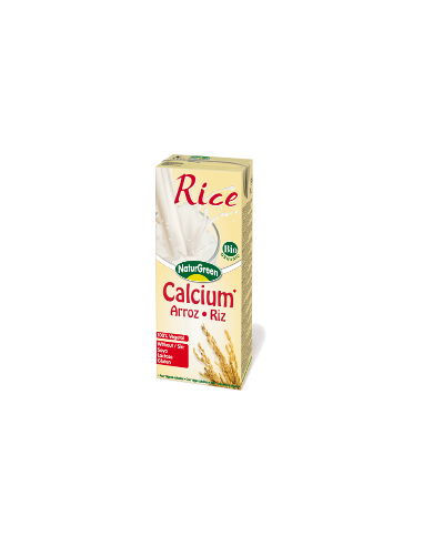 Молоко рисовое с кальцием, NaturGreen, 200 мл