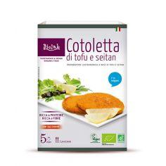 Котлета з тофу та сейтану органічна, Biolab, 160 г