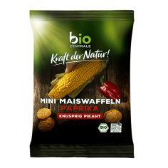 Коржики кукурудзяні з паприкою органічні 50г, Bio Zentrale