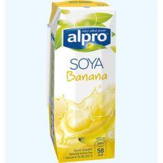 Молоко соевое банановое, Alpro, 1000мл