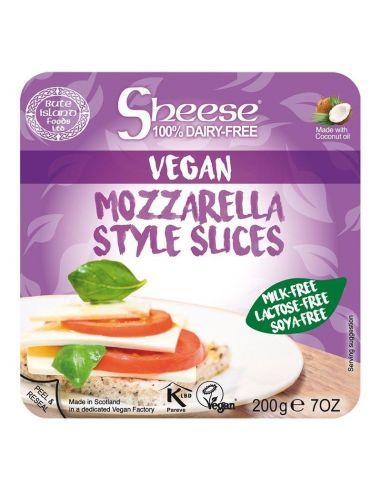 Сир твердий, моцарелла скибочки, SHEESE, 200г.
