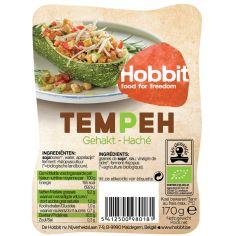 Соєві боби ферментовані Темпе подрібнений, De Hobbit, 170г