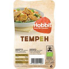 Соєві боби ферментовані Темпе, De Hobbit, 200г