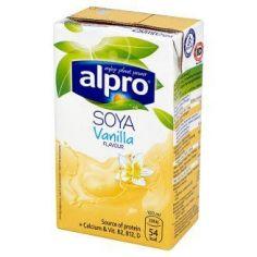 Молоко соєве ванільне, Alpro, 250мл