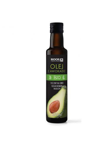 Масло м'якоті авокадо першого віджиму Bio Planet, 250мл,