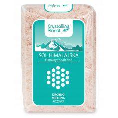 Сіль гімалайська рожева дрібного помелу, Crystalline Planet, 600г