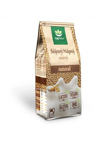 Молоко соєве натуральне, розчинне, TopNatur 350г