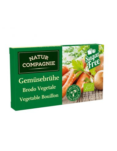 Кубики бульйонні овочеві, NATUR COMPAGNIE, 126г.