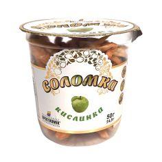 Соломка яблучна Кислинка, Spektrumix, 50г